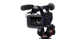 Modern digital video camera Stock Photography