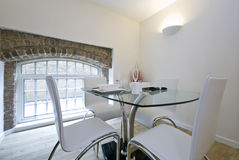 Modern dining area Royalty Free Stock Photography