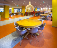 Modern Dining Hall in a Hospital Stock Image