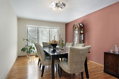Modern dining room Royalty Free Stock Photos