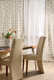 Modern dining room Stock Photos