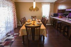 Modern dining room. Stock Photos