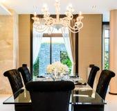 Modern Dining room Stock Photos