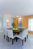 Modern Dining Room In House Stock Images