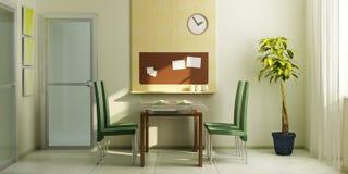 Modern dining-room interior Royalty Free Stock Photo