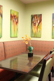 Modern dining room interior design Royalty Free Stock Images