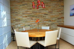 Modern Dining Room Royalty Free Stock Image