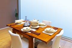 Modern dinning Royalty Free Stock Image