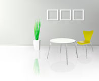 Modern Dinning Room Interior Royalty Free Stock Image