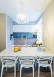 Modern dinning room interior Royalty Free Stock Photo
