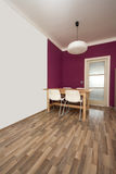 Modern dinning room. Picture of a modern dinning room Royalty Free Stock Photography