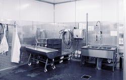 Modern dishwashing room, toned Royalty Free Stock Image