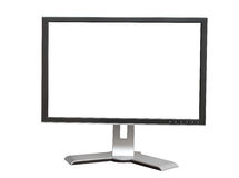 Modern display on a white background Royalty Free Stock Photos