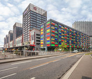 Modern district near Lille Europe railway station Royalty Free Stock Photo