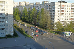 Modern district. Petersburg. Rissia Stock Image
