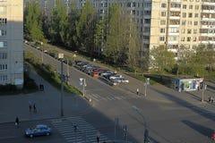 Modern district. Petersburg. Rissia Stock Photos
