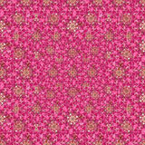Modern Ditsy Floral Collage Pattern Royalty Free Stock Photos