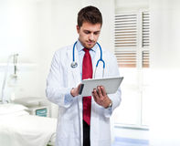 Modern doctor Stock Photo