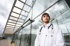 Modern doctor Stock Images