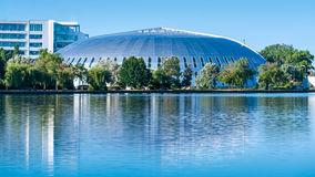 Modern dome building Royalty Free Stock Photography