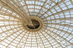 Modern Dome Structure. Inside View Of Modern Dome Structure Royalty Free Stock Photography