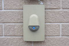 Modern Door Bell for Modern Home Royalty Free Stock Images
