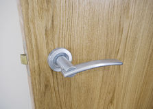 Modern door handle Royalty Free Stock Photo