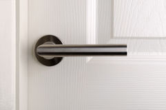 Modern door handle Stock Photos