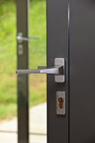 Modern door handle Stock Images