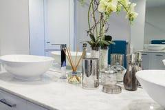Modern double bathroom Royalty Free Stock Photography