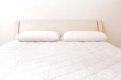 Modern double bedroom Stock Images