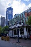 Modern Downtown in Calgary, Alberta Canada. Stock Image