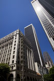 Modern Downtown City of Los Angeles Buildings Stock Images