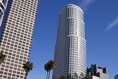 Modern Downtown City of Los Angeles Buildings Royalty Free Stock Photography