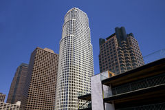 Modern Downtown City of Los Angeles Buildings Royalty Free Stock Image