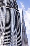 Modern downtown of Dubai Royalty Free Stock Images