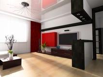 Modern drawing room stock illustration