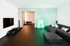 Modern drawing-room interior Stock Photography