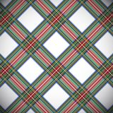 Modern Dress Stewart tartan Stock Photography