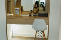 Modern dressing table Royalty Free Stock Photo