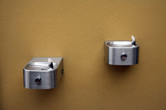 Modern drinking fountain Royalty Free Stock Image