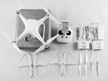 A modern drone kit Royalty Free Stock Photo