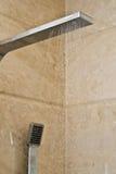 modern dusch Fotografering för Bildbyråer