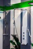 modern dusch för cubicle Royaltyfria Bilder
