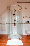 modern dusch för kabin royaltyfri foto