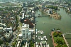 Modern Dusseldorf (Germany) stock photo