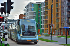 Modern dutch bus at stijp s Royalty Free Stock Photo