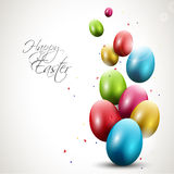 Modern Easter background Royalty Free Stock Photos