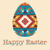 Modern Easter background, happy Easter card Royalty Free Stock Photos