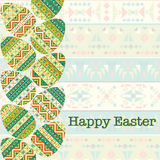 Modern Easter background, happy Easter card Royalty Free Stock Photo